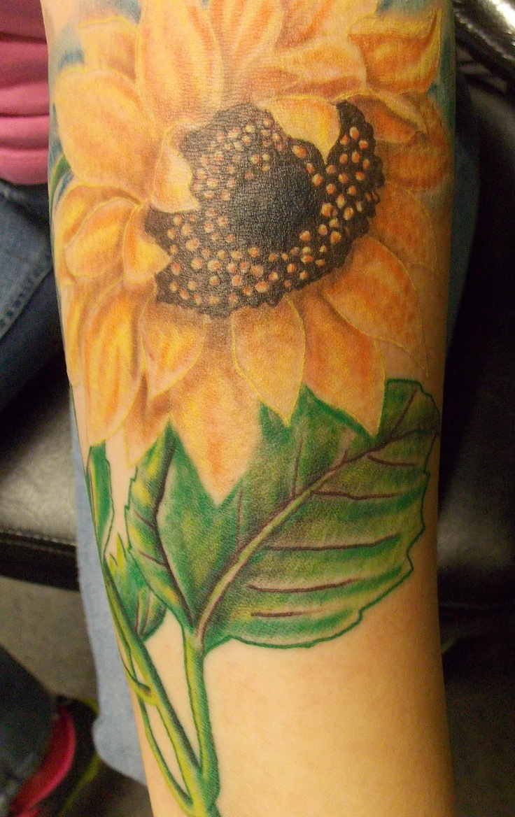 Sunflower Tattoo: Ideas And Inspiration For Guys