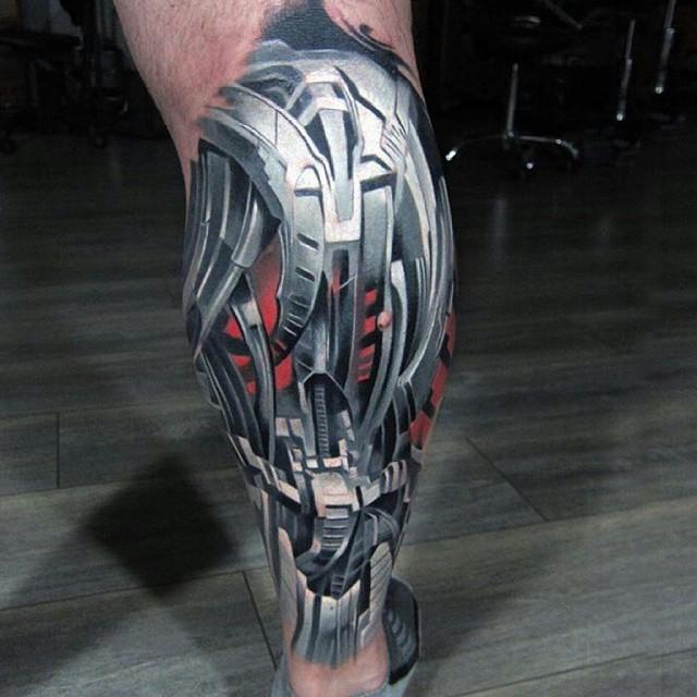 Bio Mechanical Tattoo: Ideas And Inspiration For Guys