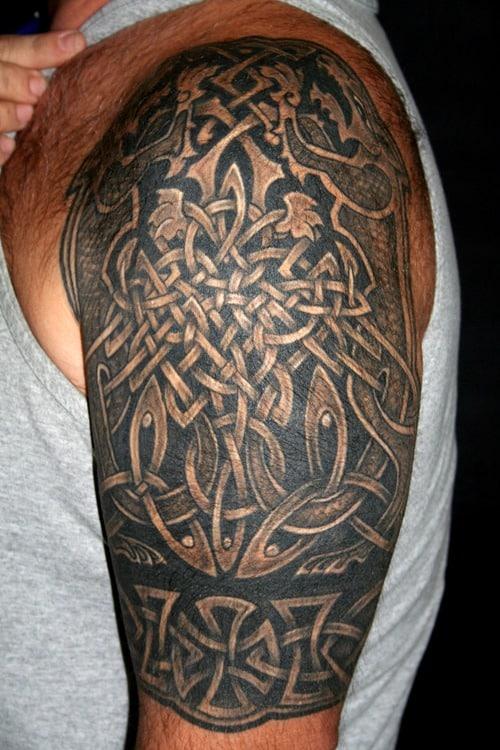 48894e1f6bd3d Celtic Tattoos for Men - Ideas and Inspiration for Guys