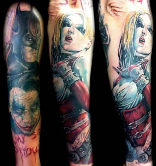 DC Comic Tattoos For Men Ideas And Inspiration Guys