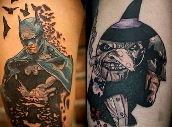 Dc comic tattoos for men ideas and inspiration for guys for Tattoo places in dc