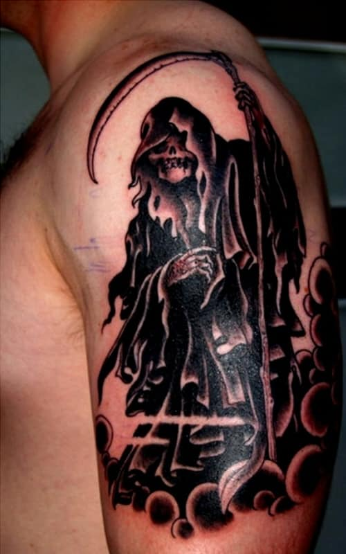 Grim Reaper Tattoos For Men Ideas And Inspiration For Guys