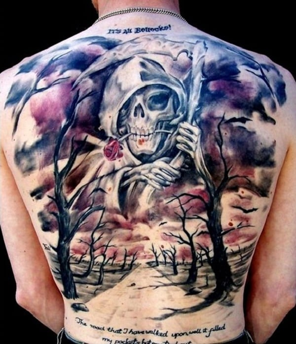 Tattoo Designs Grim Reaper: Ideas And Inspiration For Guys