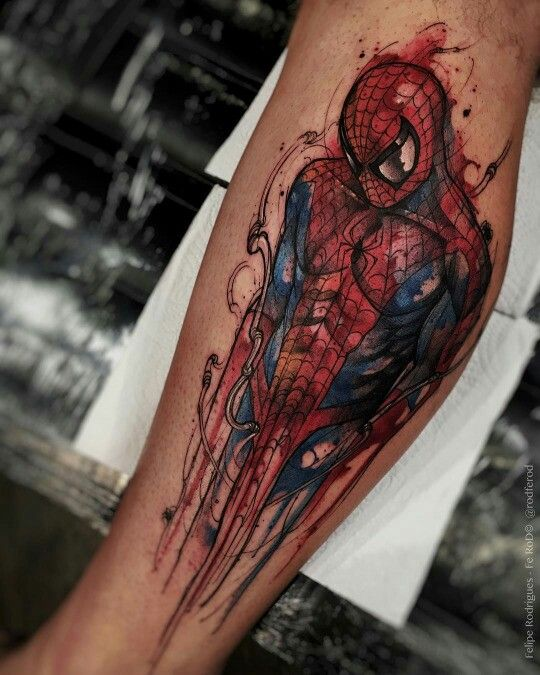 f8d332e8b Marvel Tattoos for Men - Ideas and Inspiration for Guys