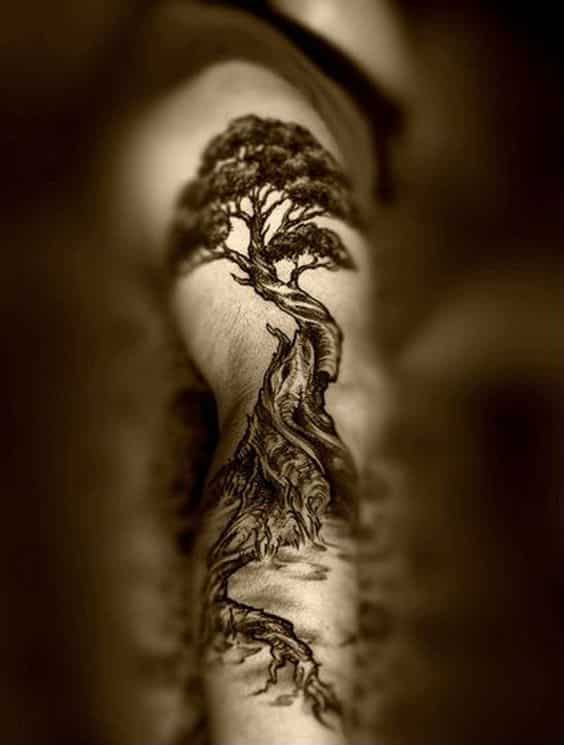 Tree Of Life Tattoo With Names
