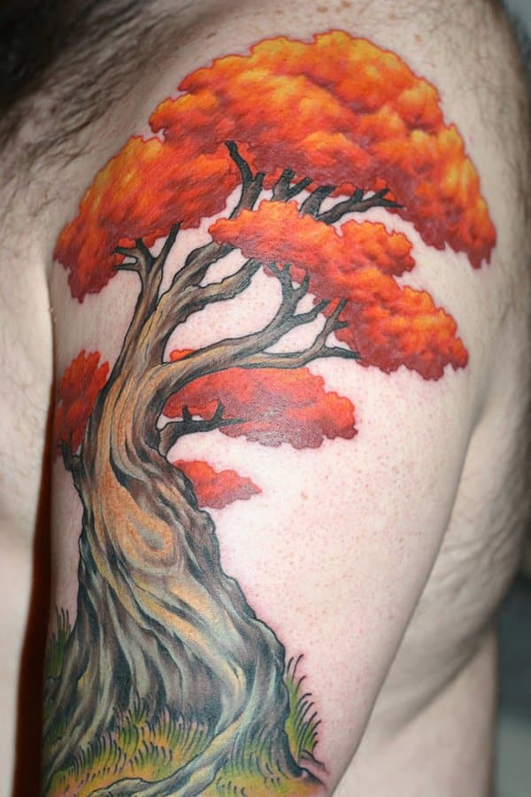 862b0c2875ce6 Tree Of Life Tattoos For Men Ideas And Inspiration For Guys
