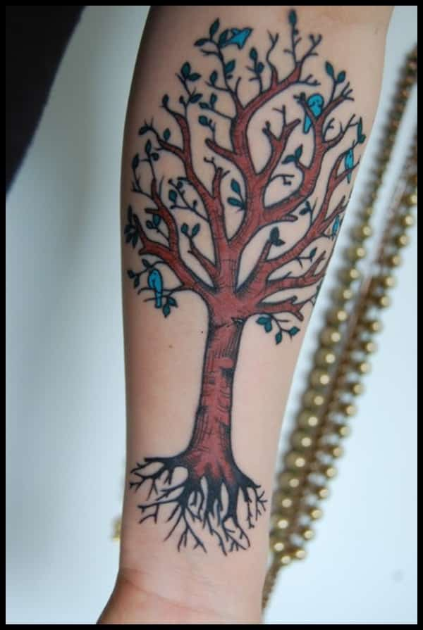 2468d5453f20c Tree of Life Tattoos for Men - Ideas and Inspiration for Guys