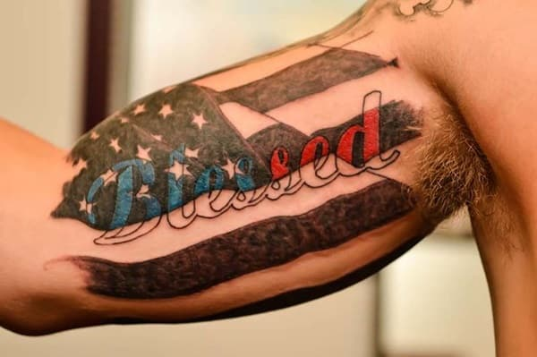 American Flag Tattoos for Men - Ideas and Designs for Guys