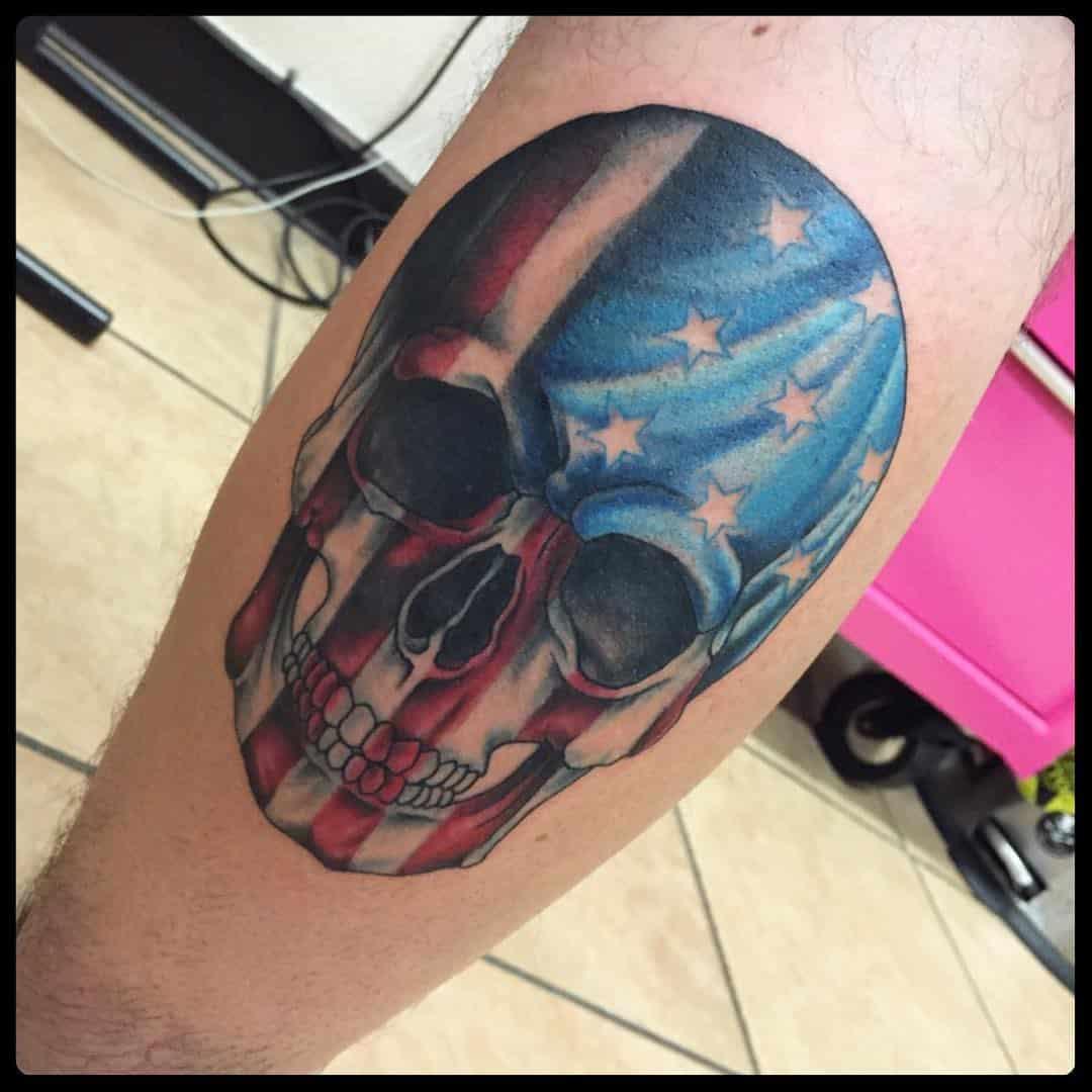 Tattoo Ideas Us: American Flag Tattoos For Men