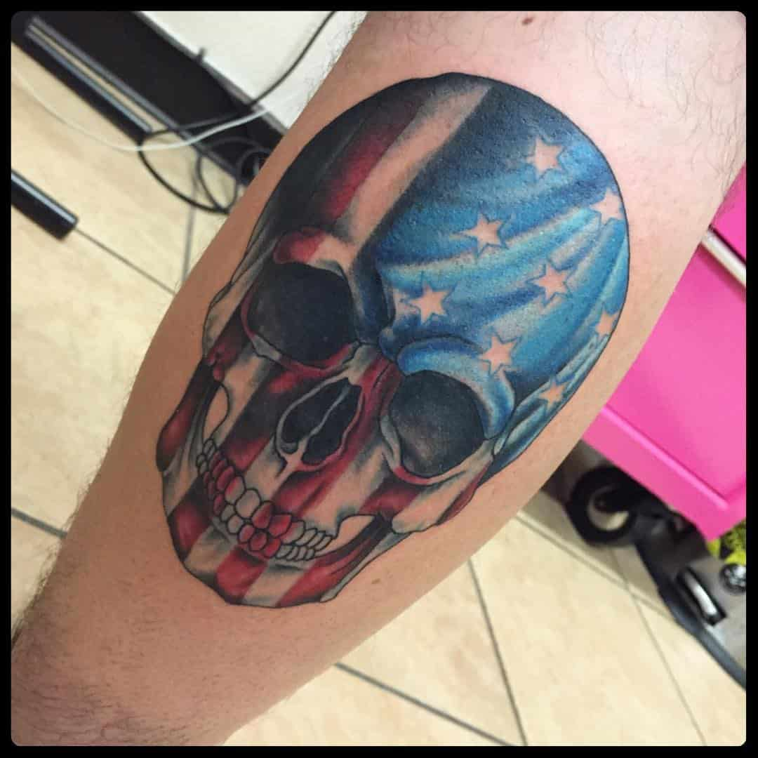 American Flag Tattoos for Men - Ideas and Designs for Guys Batman Tattoo Chest