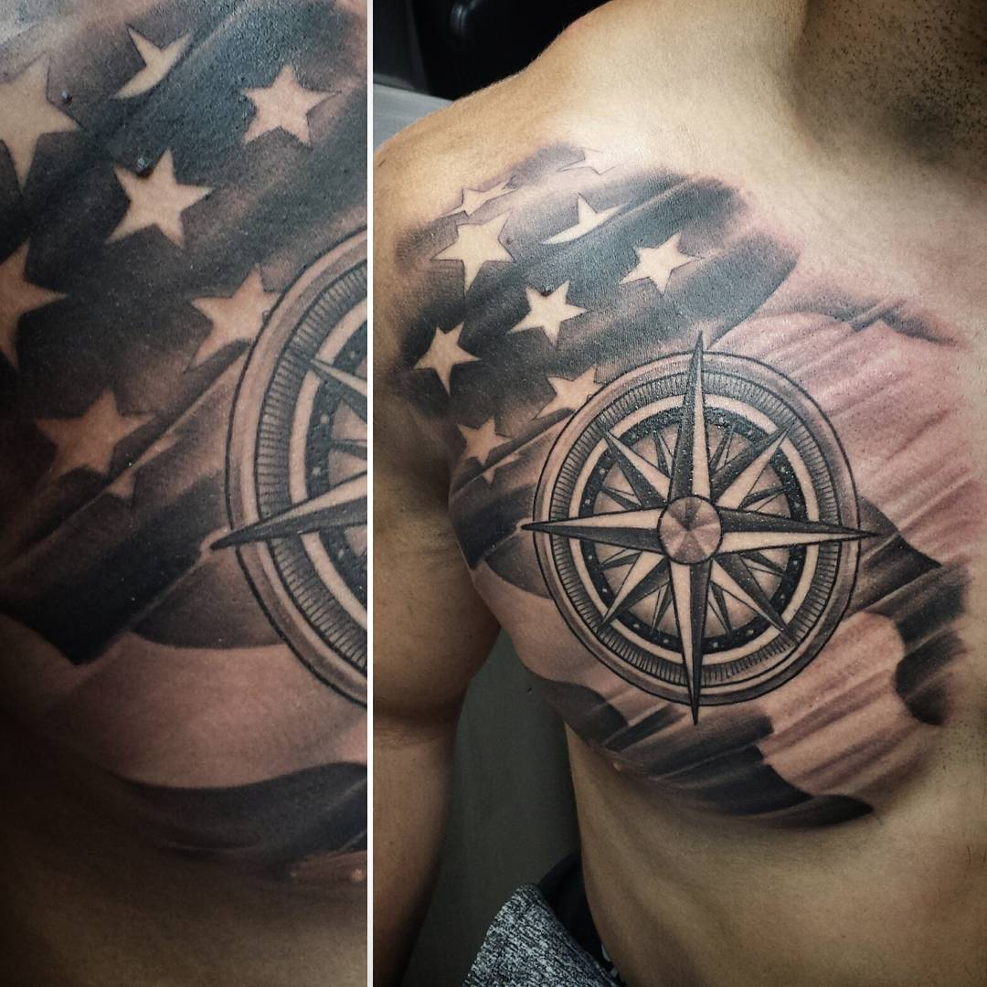 American Flag Tattoos For Men  Ideas And Designs Guys