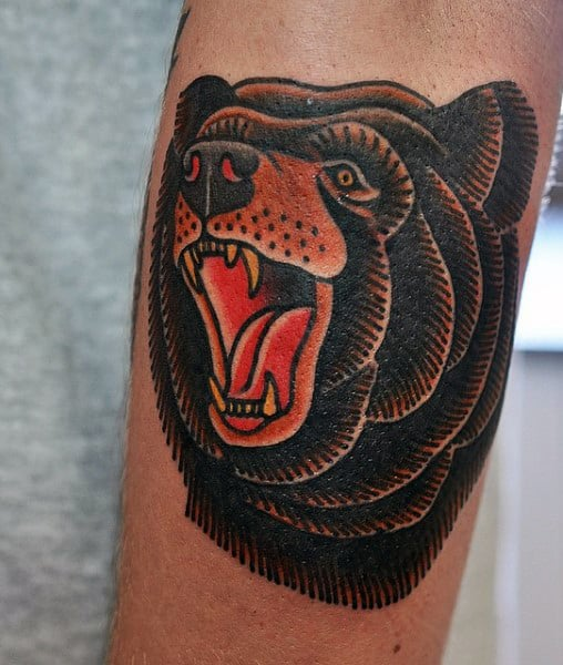 Bear Tattoos for Men - Ideas and Inspiration for Guys