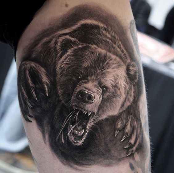 Bear Tattoos For Men Ideas And Inspiration For Guys