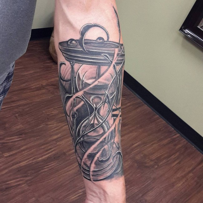 Hourglass Tattoo Hourglass And Tattoos And: Ideas And Inspiration For Guys