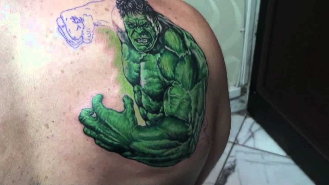 superhero tattoos for men ideas and inspiration for guys. Black Bedroom Furniture Sets. Home Design Ideas