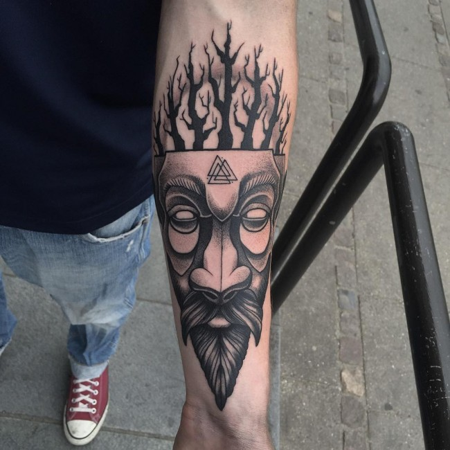 Viking tattoos for men ideas and inspiration for guys for Nordic tattoos and meanings