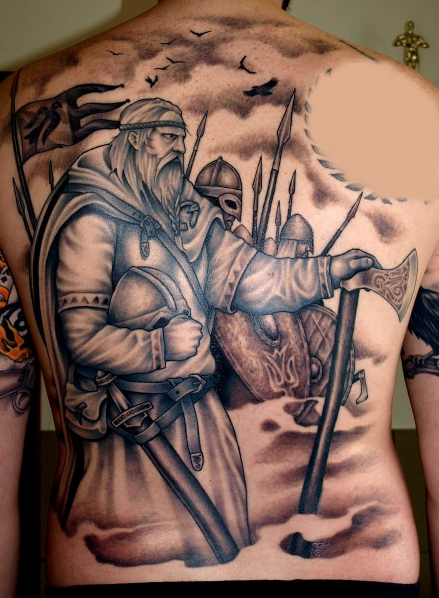 Viking Tattoos for Men - Ideas and Inspiration for GuysNorse Viking Tattoo Ideas