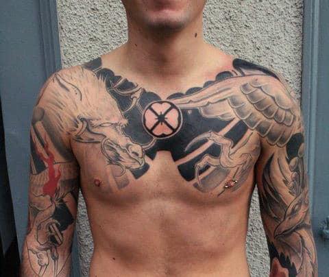 Collar Bone Tattoos For Men  Ideas And Inspiration Guys
