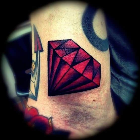 Diamond Tattoos for Men - Ideas and Inspiration for Guys