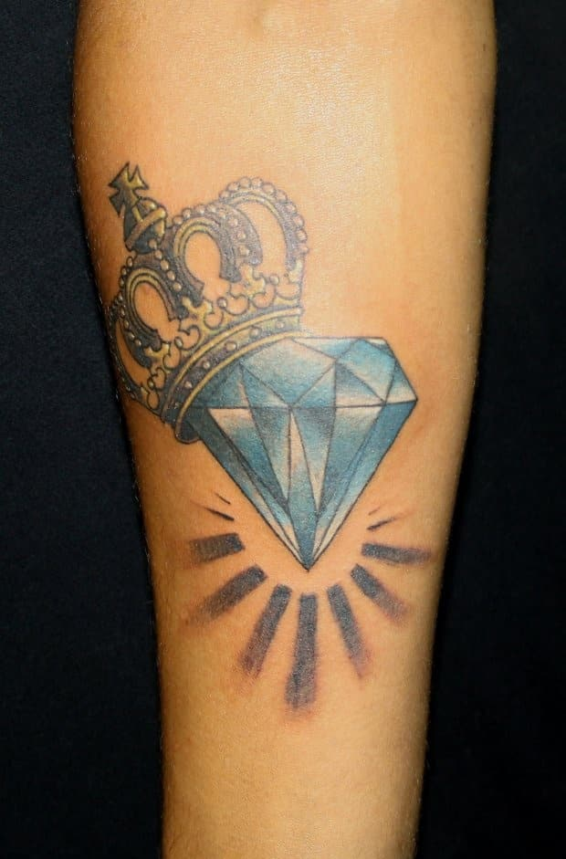 diamond tattoo designs ideas - photo #19