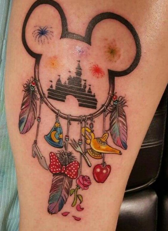 9c18690d28c75 Disney Tattoos for Men - Ideas and Inspiration for Guys