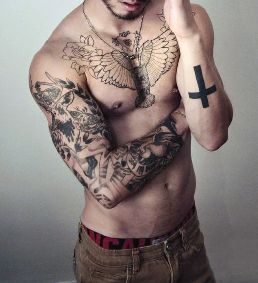 Faith Tattoo Images Designs: Ideas And Inspiration For Guys