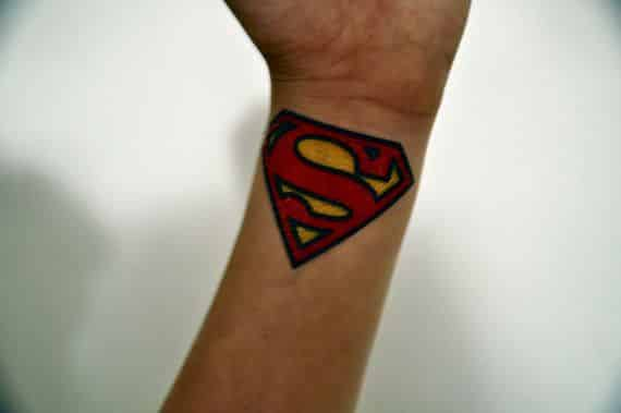 Superman Tattoos For Men  Ideas And Inspiration Guys