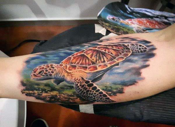35+ Turtle Tattoo Designs that portray beauty and tranquility