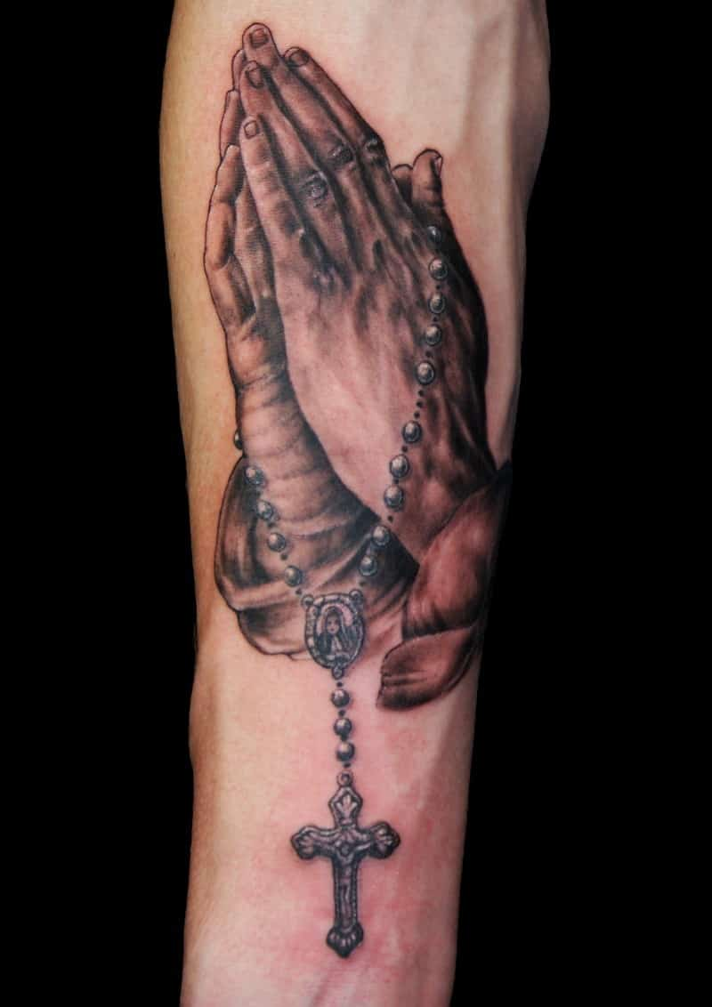 praying hands tattoos for men ideas and designs for guys. Black Bedroom Furniture Sets. Home Design Ideas