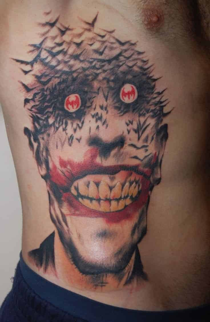 Joker Tattoos For Men Ideas And Inspiration For Guys
