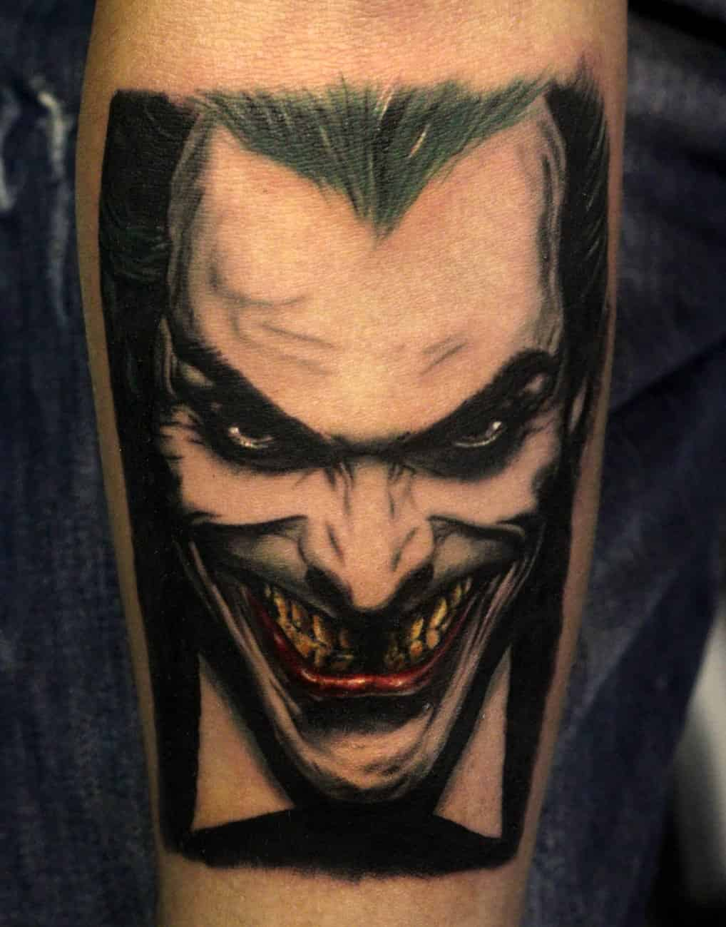 joker tattoo designs pictures - photo #10
