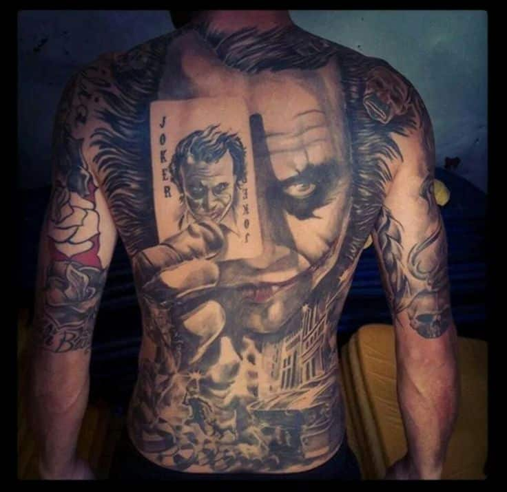 joker tattoo designs pictures - photo #27