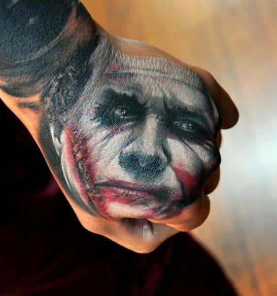 Joker Tattoos For Men Ideas And Inspiration For Guys