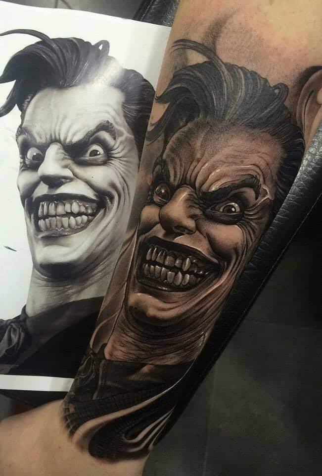 Joker Tattoos For Men  Ideas And Inspiration Guys