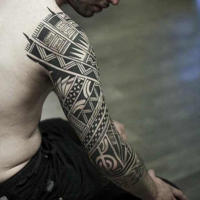 samoan tattoos for men ideas and inspiration for guys. Black Bedroom Furniture Sets. Home Design Ideas