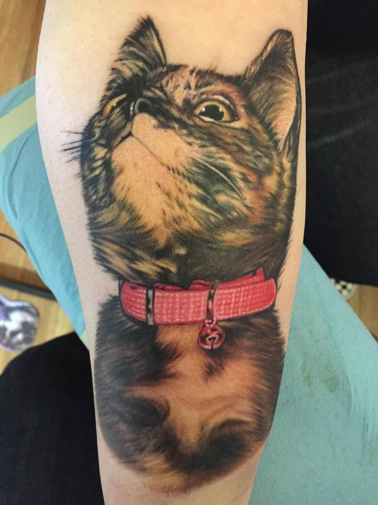 Cat tattoos for men ideas and inspiration for guys for Cat eyes tattoo designs
