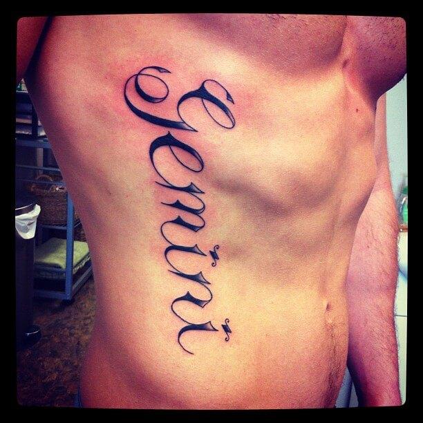 Gemini Tattoos For Men  Ideas And Inspiration Guys