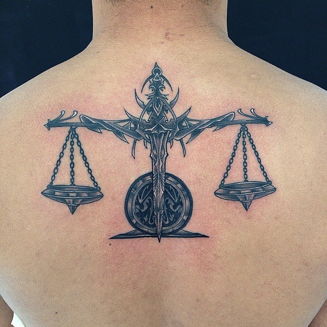 Libra Tattoos For Men Ideas And Inspiration For Guys
