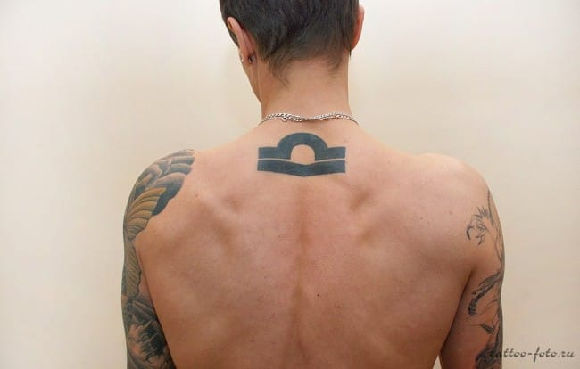 libra tattoos for men ideas and inspiration for guys. Black Bedroom Furniture Sets. Home Design Ideas