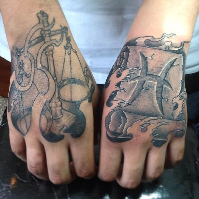 1a1a646bd Pisces Tattoos for Men - Ideas and Inspiration for Guys