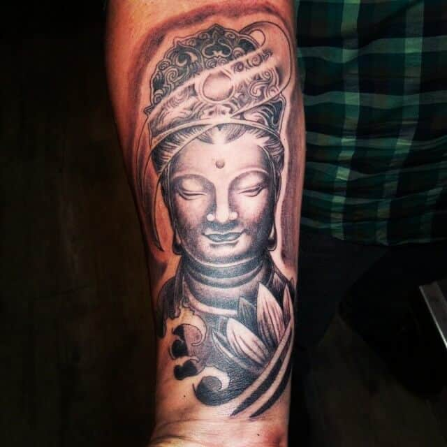 buddha tattoos for men ideas and inspiration for guys. Black Bedroom Furniture Sets. Home Design Ideas