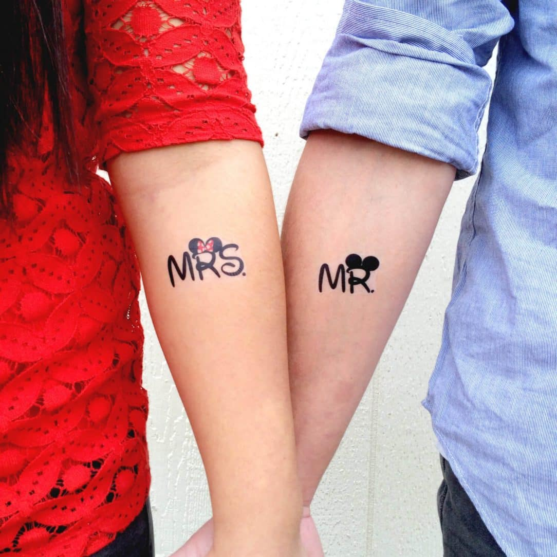 Couples Tattoos Of The Cutest And Lovable Couple - 30 amazing couple tattoos that will make you look twice