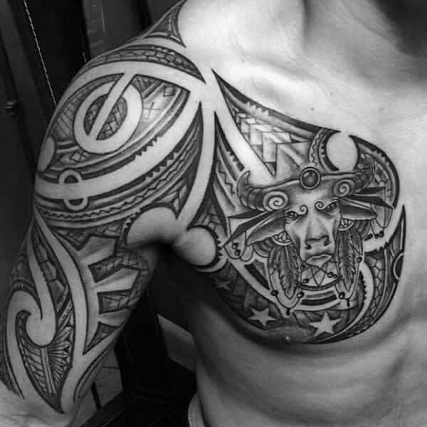 Taurus Tattoos for Men - Ideas and Inspiration for Guys