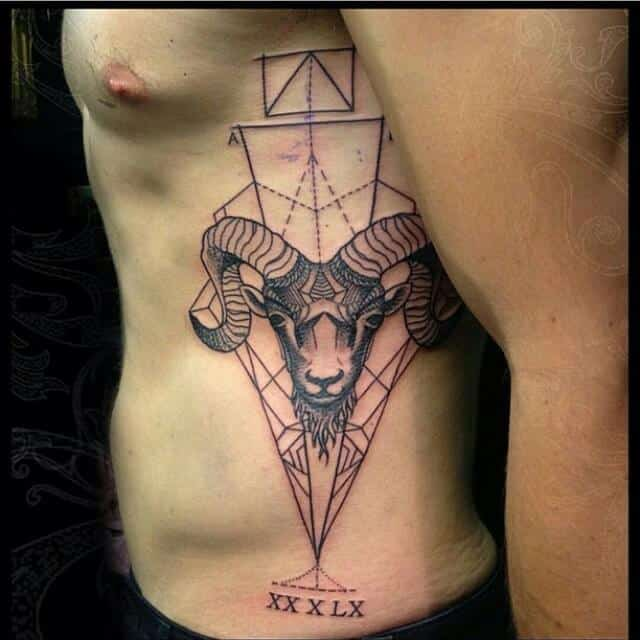 Awesome Aries Tattoo Designs: Ideas And Inspiration For Guys