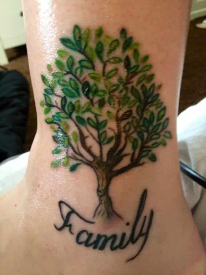 Family tree tattoos for men ideas and inspiration for guys for Parents against tattoos