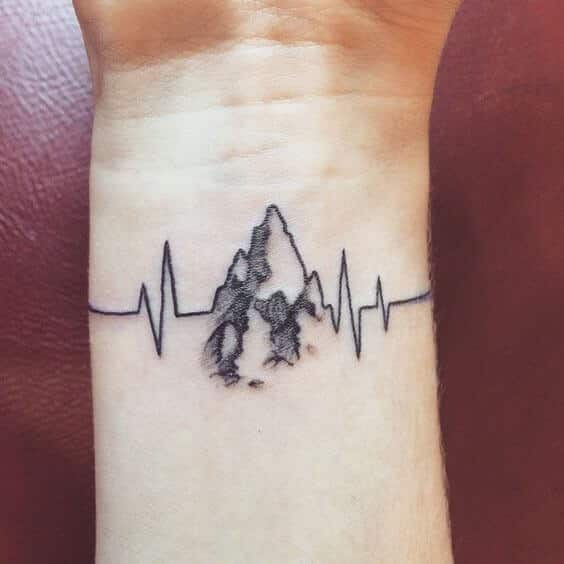 Tattoo Ideas Heartbeat: Ideas And Inspiration For Guys