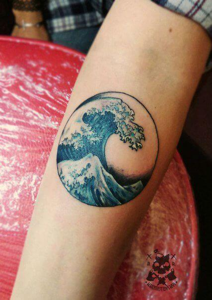 Wave Tattoos For Men Ideas And Inspiration For Guys