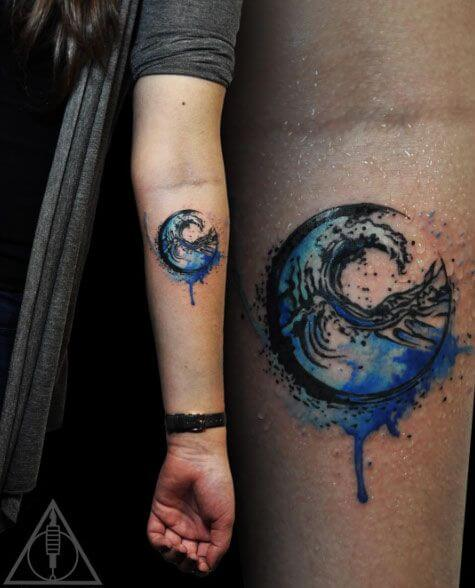 Wave tattoos for men ideas and inspiration for guys for Next wave tattoo