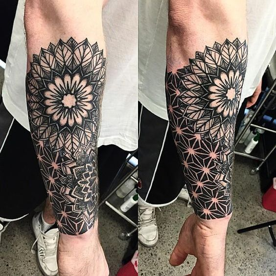 mandala tattoos for men ideas and designs for guys. Black Bedroom Furniture Sets. Home Design Ideas