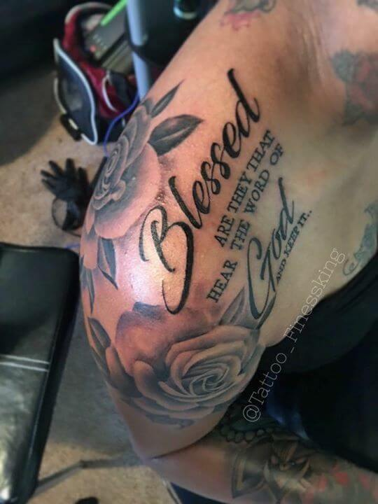 Scripture tattoos for men ideas and designs for guys for Bible tattoos for girls